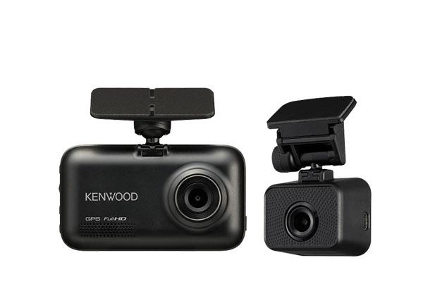 【キャッシュレス決済5%還元!対象店】ケンウッドKENWOODスタンドアローン型前後撮影対応2カメラドライブレコーダーDRV-MR740