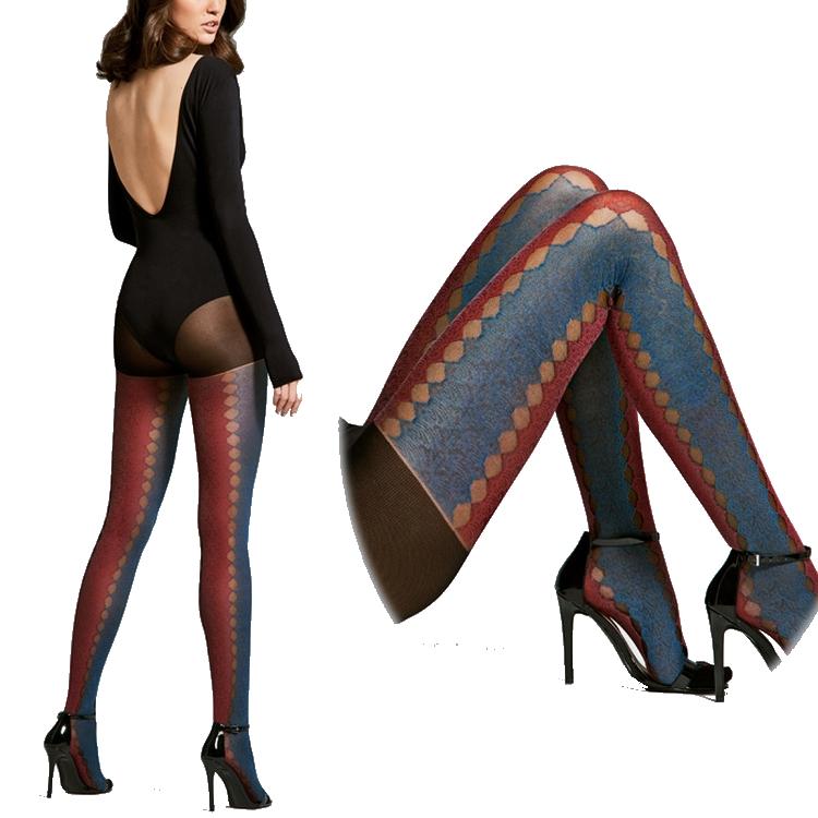 37e5603e1e1c2 Lingerie house carlina: Exotic pattern pantyhose JOURNEY/ journey 20 ...