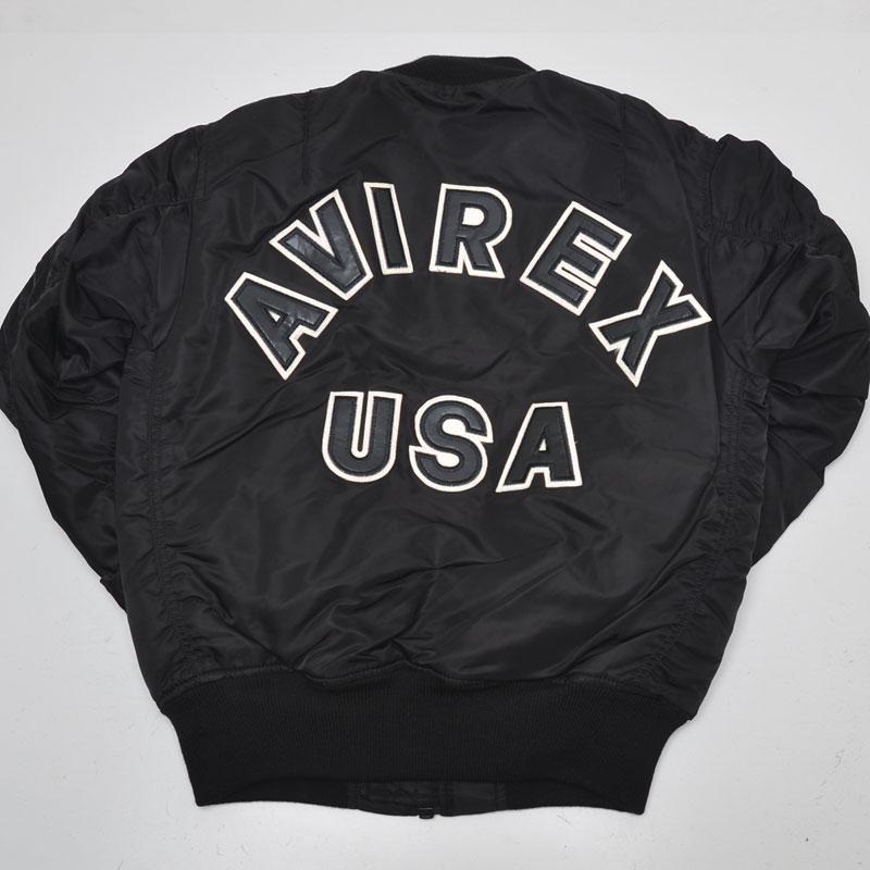 【送料無料】 AVIREX アヴィレックス(アビレックス)6162164(6132079) MA-1 LOGO ロゴ ma1