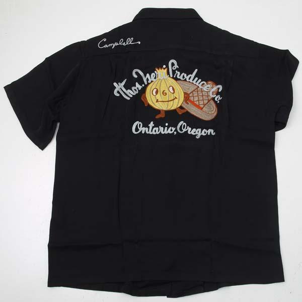 ボーリングシャツ 東洋 King Louie キングルイ 最新アイテム 新品 送料無料 ONION BOY KL37599-119 ブラック