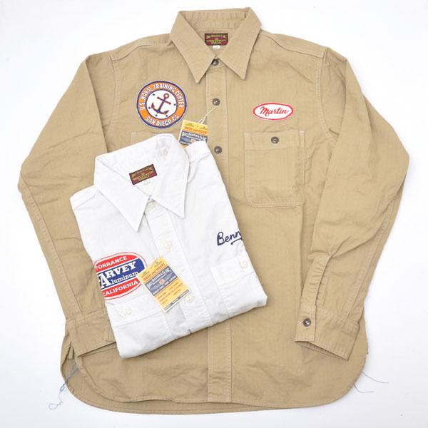 【送料無料】 Buzz Ricksons バズリクソンズ BR26079 CONTRACTOR SHIRT コントラクターシャツ 長袖シャツ