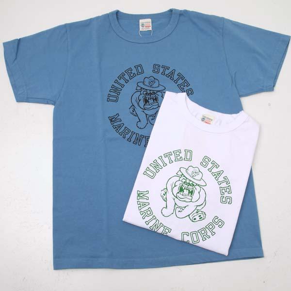 お見舞い プリント半袖Tシャツ Buzz Ricksons バズリクソンズBR78292 保障