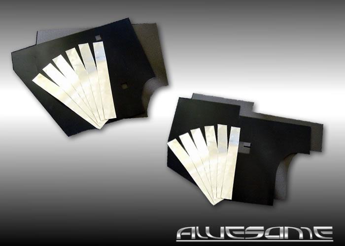 ★新発売★フロント&リアをセット価格で!! 30プリウス(DAA-ZVW30)用 ノイズレスマットキット(遮音) 一台分(フロント&リアドア) デッドニングキットと併用するとさらに効果的! 音・振動・衝撃を吸収 優れた防音効果02P05Nov16