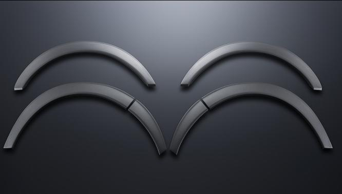 【ESSEX/エセックス】 オーバーフェンダー ABS製 シボハイエース/レジアスエース ※メーカー直送品の為、代金引換利用不可