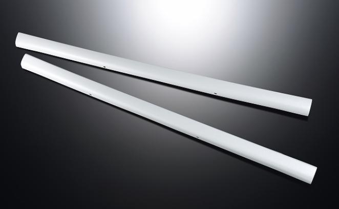 【ESSEX/エセックス】 サイドライナーABS製 ブラックマイカ ホワイトパールハイエース 200系専用 ※メーカー直送品の為、代金引換利用不可02P05Nov16