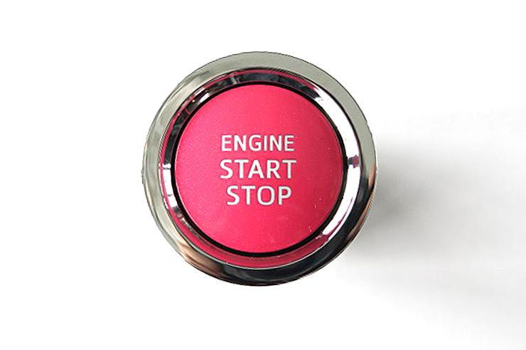 【トヨタ純正】ReBORNピンク【ENGIN START STOP】プッシュスタートスイッチエンジンスターターボタン/リボーンクラウン/ヴィッツ/ヴォクシー/ノア/ハイエース/ハリアー/カローラフィールダー等02P05Nov16