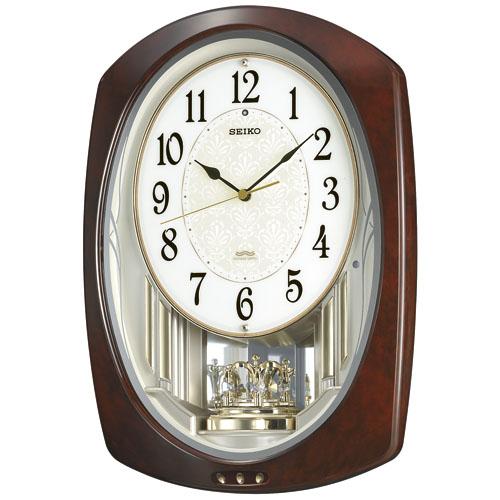 アミューズ時計 ウエーブシンフォニー AM239H セイコー掛け時計 SEIKO電波時計 【楽ギフ_のし】【楽ギフ_メッセ入力】【楽ギフ_名入れ】