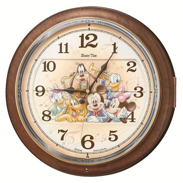 セイコークロック SEIKO からくり時計 ディズニー 壁掛け 名入れ ディズニータイム  FW587B セイコーからくり掛け時計 からくり電波時計 報時 名入れ ギフト プレゼント 誕生日 記念品 記念 出産内祝い 出産お祝い 新築お祝い 結婚お祝い 内祝い お返