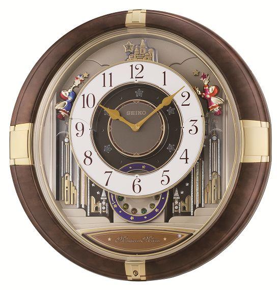 からくり時計 掛け時計 ウエーブシンフォニー RE816B セイコー掛け時計 SEIKO電波時計