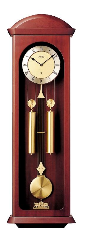 セイコー 報時振り子時計エンブレム SEIKO振り子時計 HS430B SEIKO掛け時計