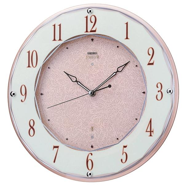 セイコー掛け時計エンブレム SEIKO電波時計 HS524A SEIKO掛け時計  【楽ギフ_のし】【楽ギフ_メッセ入力】【楽ギフ_名入れ】