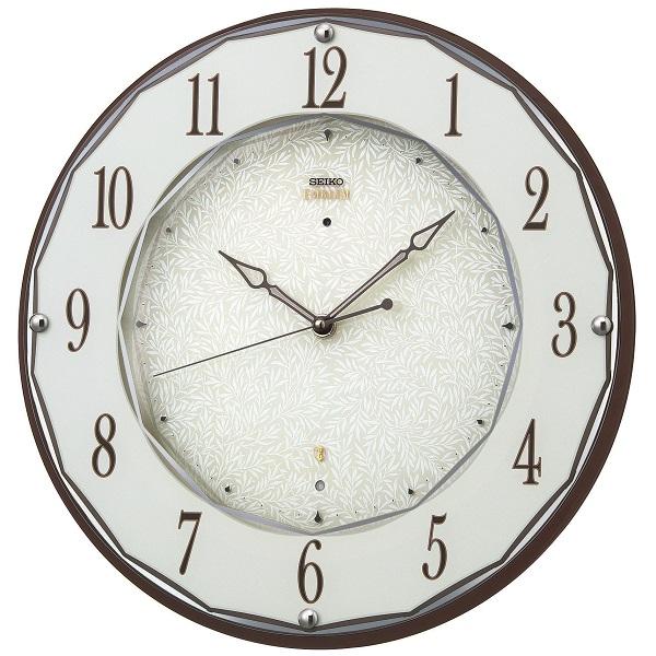 セイコー掛け時計エンブレム SEIKO電波時計 HS524B SEIKO掛け時計  【楽ギフ_のし】【楽ギフ_メッセ入力】【楽ギフ_名入れ】