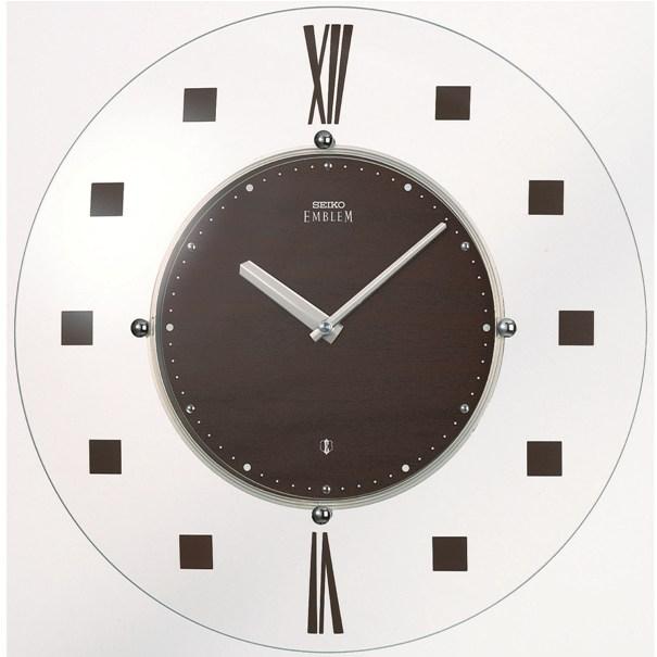 セイコー掛け時計エンブレム SEIKO電波時計 HS529B SEIKO掛け時計  【楽ギフ_のし】【楽ギフ_メッセ入力】【楽ギフ_名入れ】