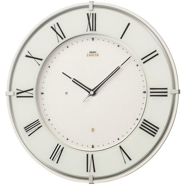 セイコー掛け時計エンブレム SEIKO電波時計 HS542W SEIKO掛け時計  【楽ギフ_のし】【楽ギフ_メッセ入力】【楽ギフ_名入れ】