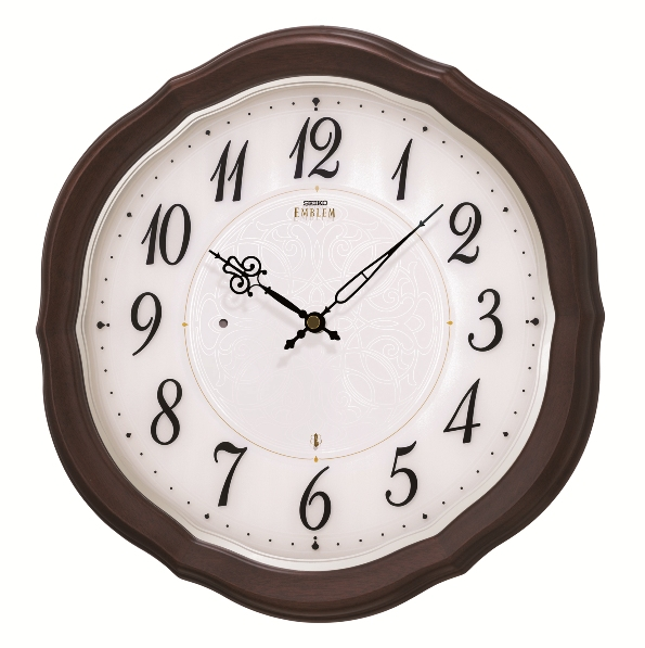 SEIKO掛け時計 セイコーエンブレム掛け時計 SEIKO電波時計 HS544B グリーン購入法適合商品 セイコー掛け時計  【楽ギフ_のし】【楽ギフ_メッセ入力】【楽ギフ_名入れ】