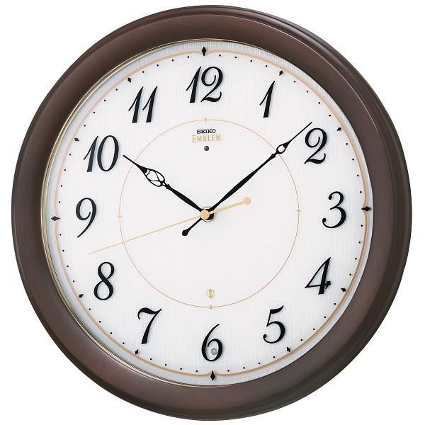 SEIKO掛け時計 セイコーエンブレム掛け時計 SEIKO電波時計 HS547B グリーン購入法適合商品 セイコー掛け時計  【楽ギフ_のし】【楽ギフ_メッセ入力】【楽ギフ_名入れ】