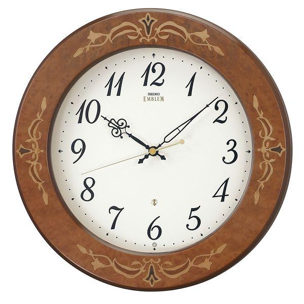 セイコー掛け時計エンブレム SEIKO電波時計 HS557B SEIKO掛け時計  【楽ギフ_のし】【楽ギフ_メッセ入力】【楽ギフ_名入れ】