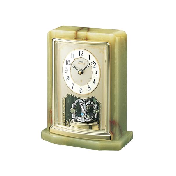 セイコー置時計エンブレム SEIKO置き時計 HW465G  【楽ギフ_のし】【楽ギフ_メッセ入力】【楽ギフ_名入れ】