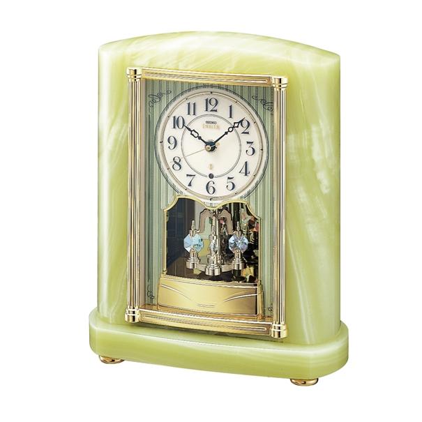 セイコー置時計エンブレム SEIKO電波置き時計 HW521M  【楽ギフ_のし】【楽ギフ_メッセ入力】【楽ギフ_名入れ】