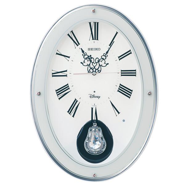 ミッキー&ミニーの楽しいクロック! ディズニークロック 振り子時計 FS508W セイコー SEIKO時計 送料無料 ミッキーマウス