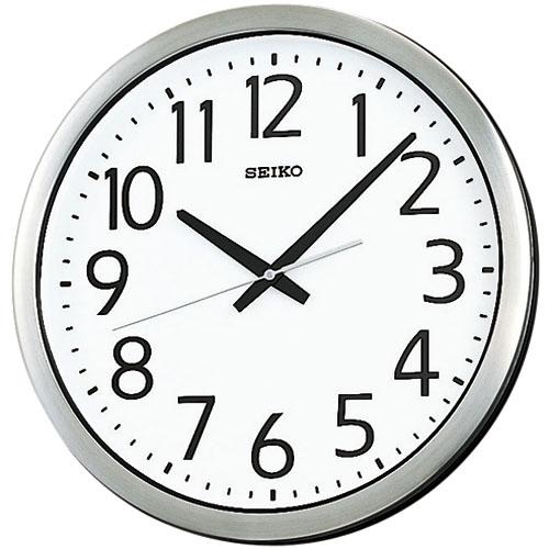 SEIKO掛け時計 セイコー掛け時計 オフィス時計 防湿・防塵・大型掛け時計 SEIKO時計 KH406S 【楽ギフ_のし】【楽ギフ_メッセ入力】【楽ギフ_名入れ】
