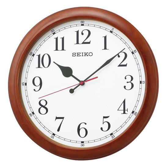 SEIKO掛け時計 セイコー掛け時計 大型時計 木枠 オフィス時計 SEIKO電波時計 KX238B SEIKO掛け時計 グリーン購入法適合商品【楽ギフ_のし】【楽ギフ_メッセ入力】【楽ギフ_名入れ】
