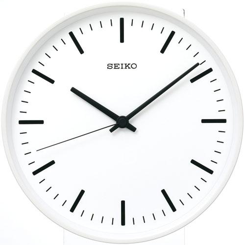 【送料無料】 セイコー掛け時計 スタンダードアナログ ホワイト KX308W φ310  SEIKO電波時計  【楽ギフ_のし】【楽ギフ_メッセ入力】【楽ギフ_名入れ】