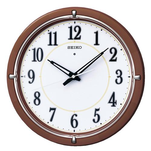 全面点灯掛け時計ファインライトNEO  セイコーSEIKO電波時計 KX395B  【楽ギフ_のし】【楽ギフ_メッセ入力】【楽ギフ_名入れ】
