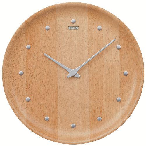 シンプルでスタイリッシュ セイコー掛け時計 SEIKO時計 KX622H ビーチウッド 天然木【楽ギフ_のし】【楽ギフ_メッセ入力】【楽ギフ_名入れ】