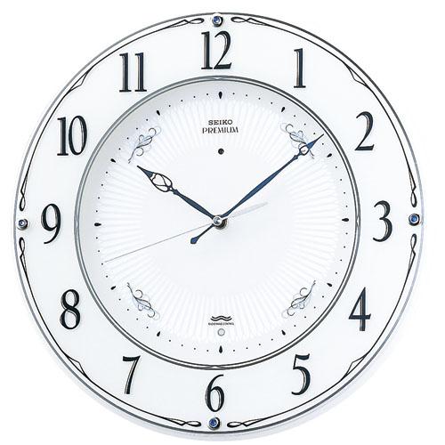 セイコー掛け時計 スタンダード  SEIKO壁掛け時計 電波時計 LS230W【楽ギフ_のし】【楽ギフ_メッセ入力】【楽ギフ_名入れ】