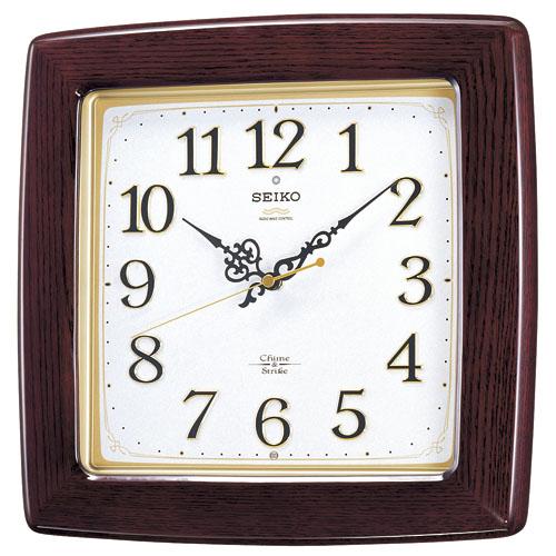 セイコー掛け時計 報時時計 SEIKO電波時計 RX211B SEIKO掛け時計  【楽ギフ_のし】【楽ギフ_メッセ入力】【楽ギフ_名入れ】