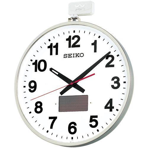 SEIKO掛け時計 屋外 ソーラータイプ セイコー掛け時計 大型ソーラー掛け時計 SEIKO電波時計 SF211S  【楽ギフ_のし】【楽ギフ_メッセ入力】【楽ギフ_名入れ】