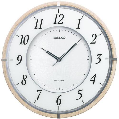 セイコー掛け時計 SEIKO電波時計 SF501B ソーラープラス SEIKO掛け時計  【楽ギフ_のし】【楽ギフ_メッセ入力】【楽ギフ_名入れ】