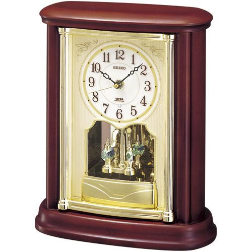重厚感ある置時計! セイコースタンダード置時計 SEIKO置き時計 BY227B  【楽ギフ_のし】【楽ギフ_メッセ入力】【楽ギフ_名入れ】