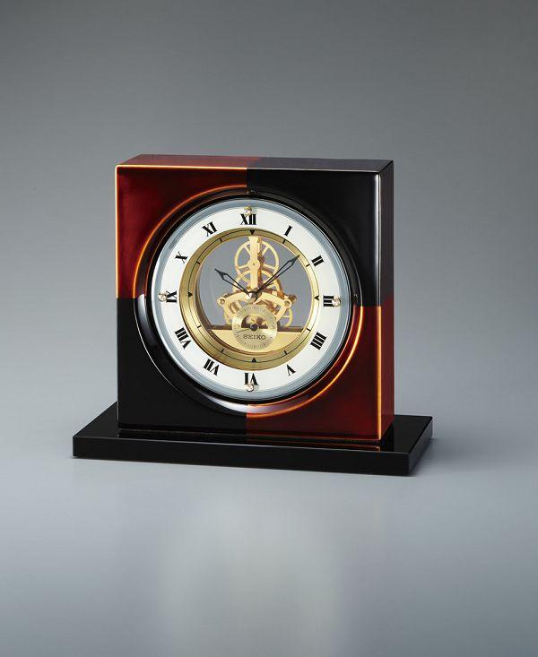 SEIKO DECOR 年間定番 漆塗り 爆買い送料無料 BZ810K 漆をまとった奥ゆかしい和の佇まい 楽ギフ_メッセ入力 楽ギフ_のし 楽ギフ_名入れ セイコー置時計
