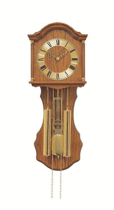 ウッドフレームの機械式が魅力 アームスAMS振り子時計 機械式 211-4 AMS掛け時計