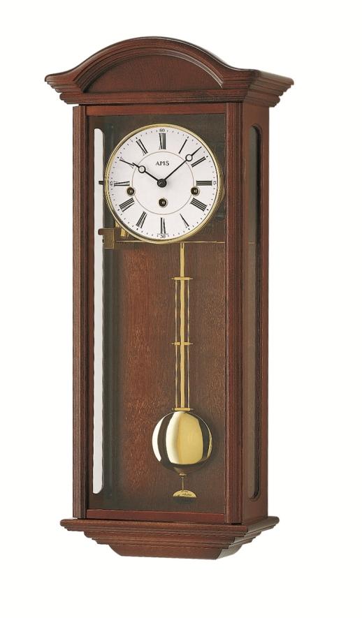 AMSアームス振り子時計 報時時計 機械式 2606-1 ドイツ製 AMS掛け時計 アームス掛け時計