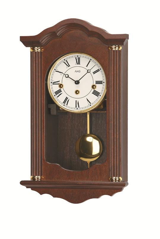 AMSアームス振り子時計 機械式 報時時計 2624-1 ドイツ製 AMS掛け時計 アームス掛け時計