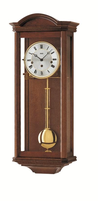 AMSアームス振り子時計 機械式 報時時計 2663-1 ドイツ製 AMS掛け時計 アームス掛け時計
