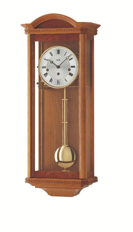 AMSアームス振り子時計 機械式 報時時計 2663-9 ドイツ製 AMS掛け時計 アームス掛け時計