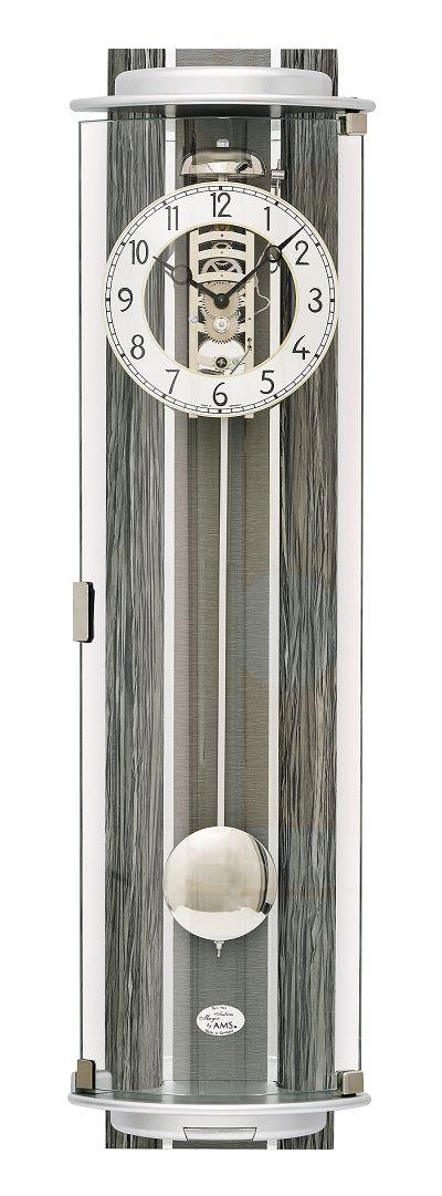 ナチュラルデザインがお洒落です! AMSアームス機械式振り子時計 報時 2717 AMS振り子時計