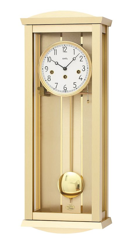 AMSアームス振り子時計 機械式 報時 2753 AMS掛け時計