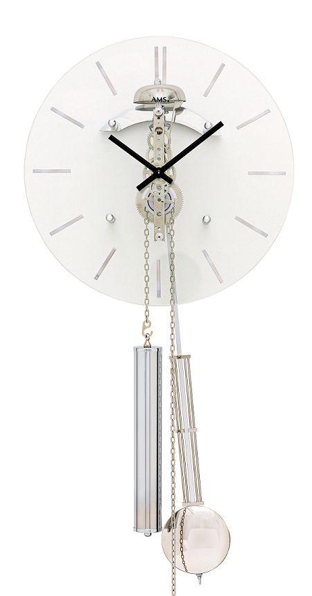 AMSアームス振り子時計  308 ドイツ製  機械式 AMS掛け時計 アームス掛け時計