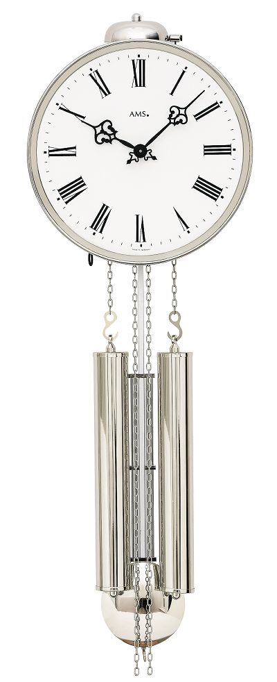 アームスAMS報時振り子時計 機械式 342 ドイツ製 AMS掛け時計 アームス掛け時計