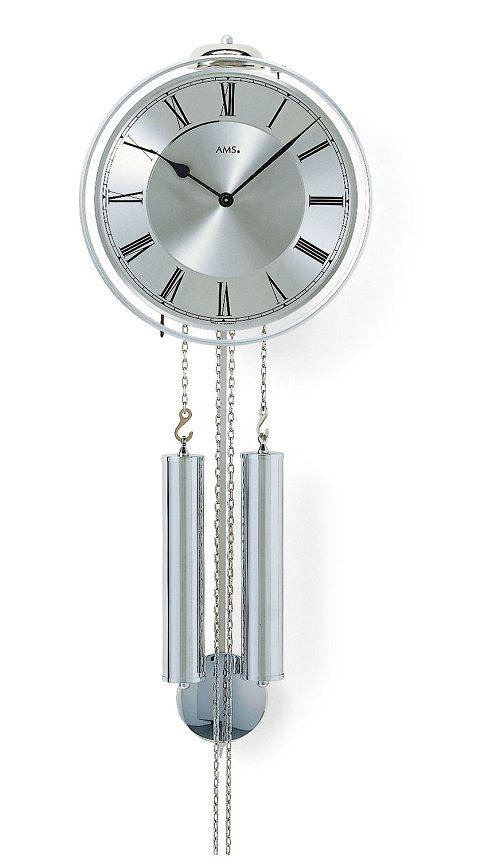アームスAMS振り子時計 機械式 358 ドイツ製 AMS掛け時計 アームス掛け時計
