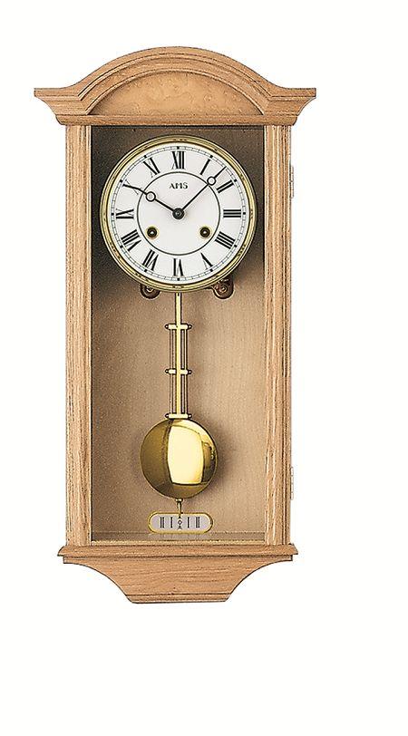 AMSアームス振り子時計 機械式 報時時計 614-5 ドイツ製 AMS掛け時計 アームス掛け時計