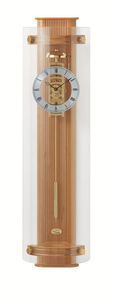 天然木が美しい AMSアームス機械式振り子時計 633-16 アルダー AMS振り子時計