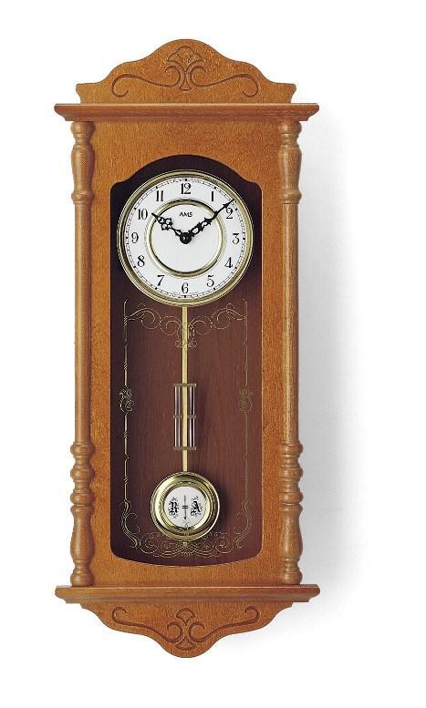 AMSアームス振り子時計 報時時計 7013-9 ドイツ製 AMS掛け時計 アームス掛け時計