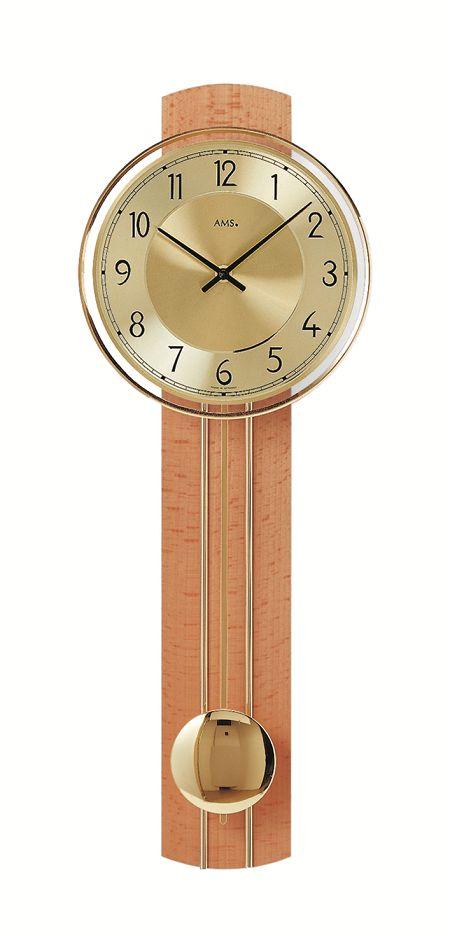 AMSアームス振り子時計 7115-18 ドイツ製 AMS掛け時計 アームス掛け時計
