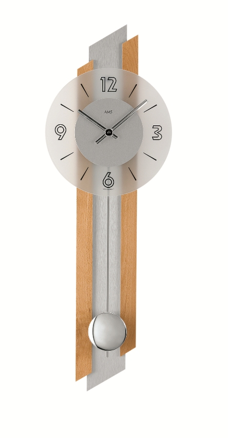 AMSアームス振り子時計 7207-18 ドイツ製 AMS掛け時計 アームス掛け時計